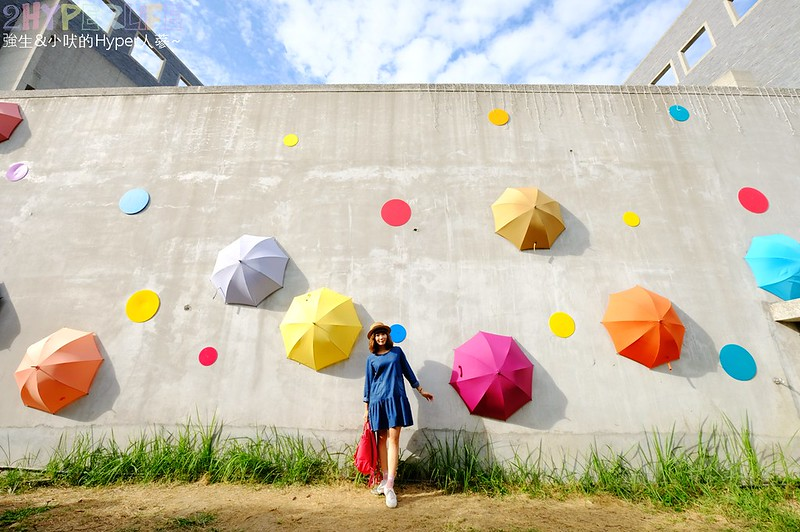 傘亮花博閃耀臺中屯區藝術中心裝置藝術展 (3)