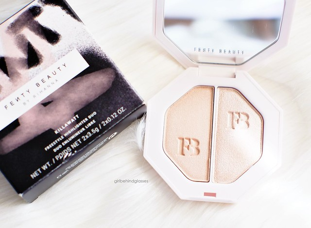 Fenty Beauty Killawatt Freestyle Highlighter Duo Lightning Dust + Fire Crystal4