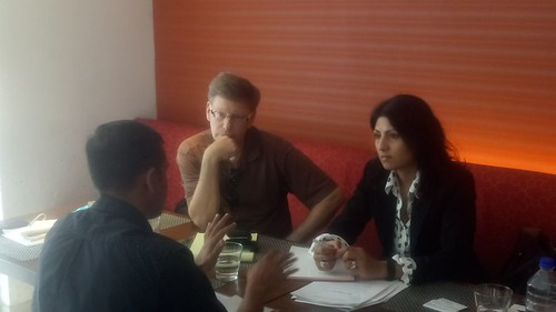 NPZ Lawyers Meet with Clients in Ahmadabad about various business immigration matters.