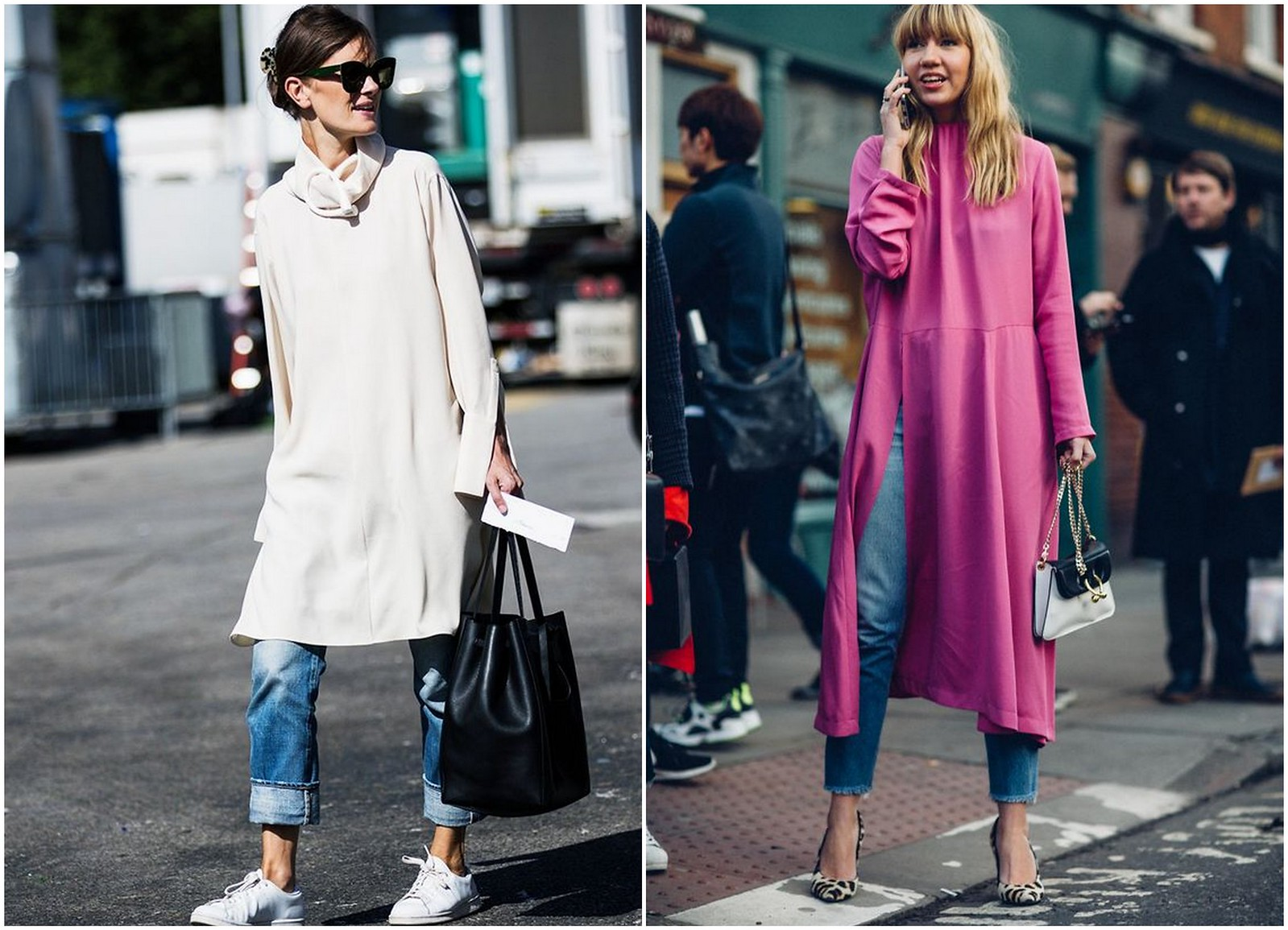 mekko ja farkut