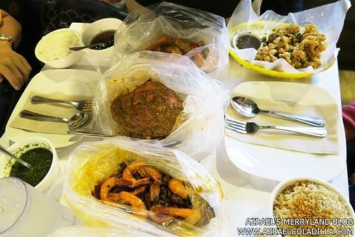 Shrimp Bucket Food Spread