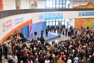 Austrian President Alexander Van der Bellen visits VIC