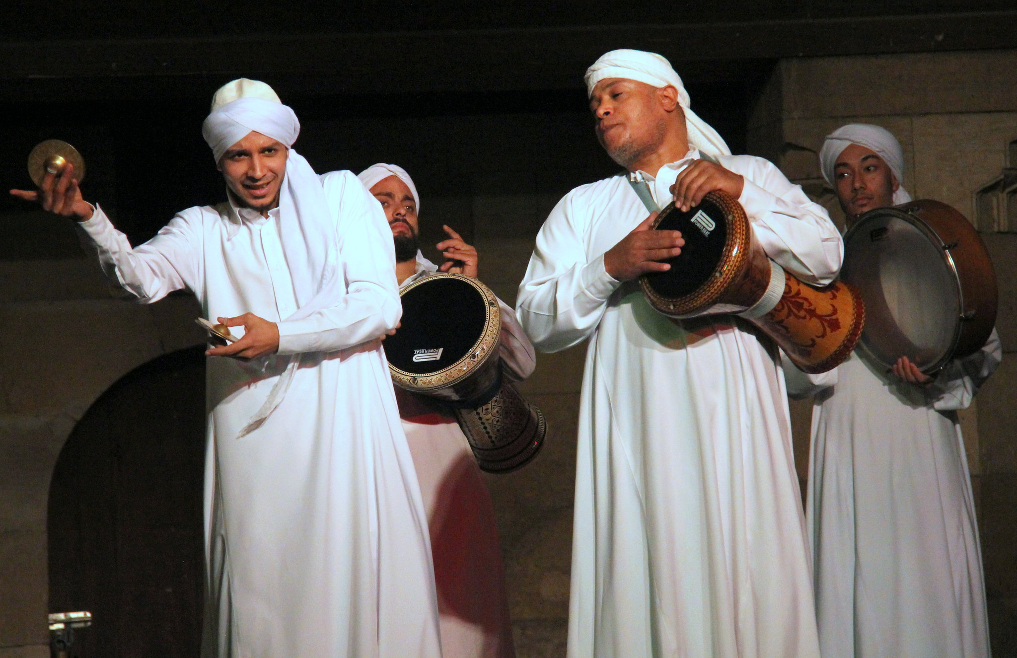 Sagat is used in Tanoura dance show