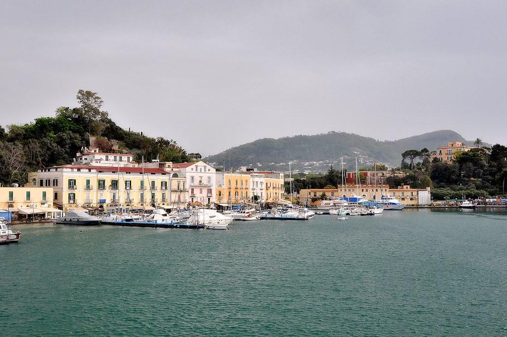 Ischia map naples italy mapcarta - Bagno italia ischia ...