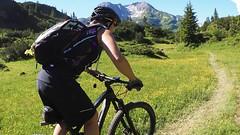Mit Andi Heckmair biken rund um Oberstdorf. Foto: Radsport Heckmair.
