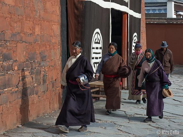 Haciendo la Kora en Xiahe