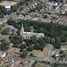 St Margaret's Church in Lowestoft - Suffolk aerial