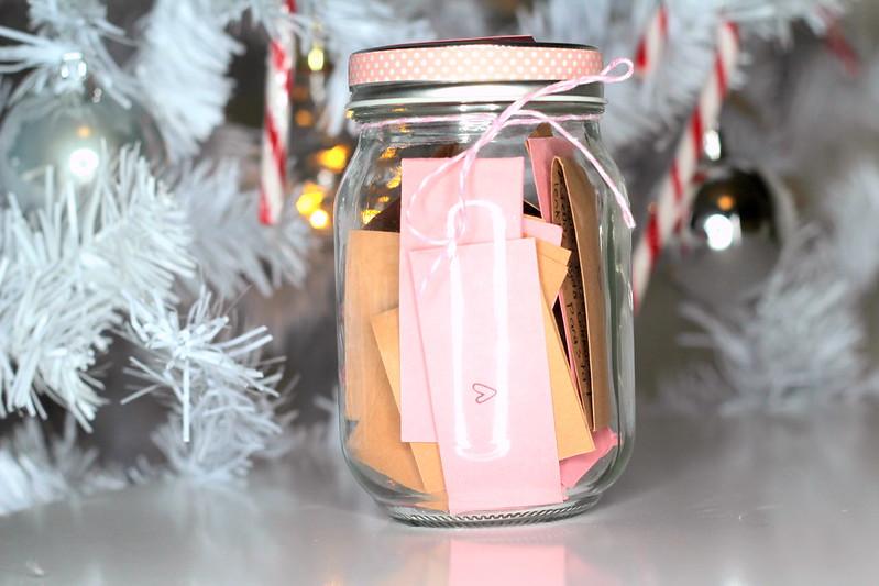 DIY joulukalenteri puolisolle rakkaalle