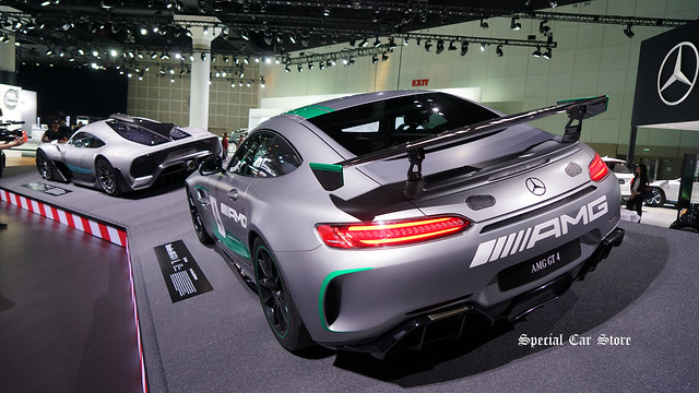 Mercedes-AMG Project ONE and Mercedes-AMG GT 4