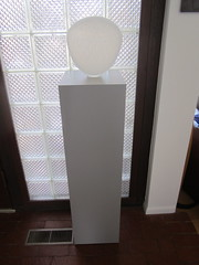 Dove Gray Laminate Pedestal