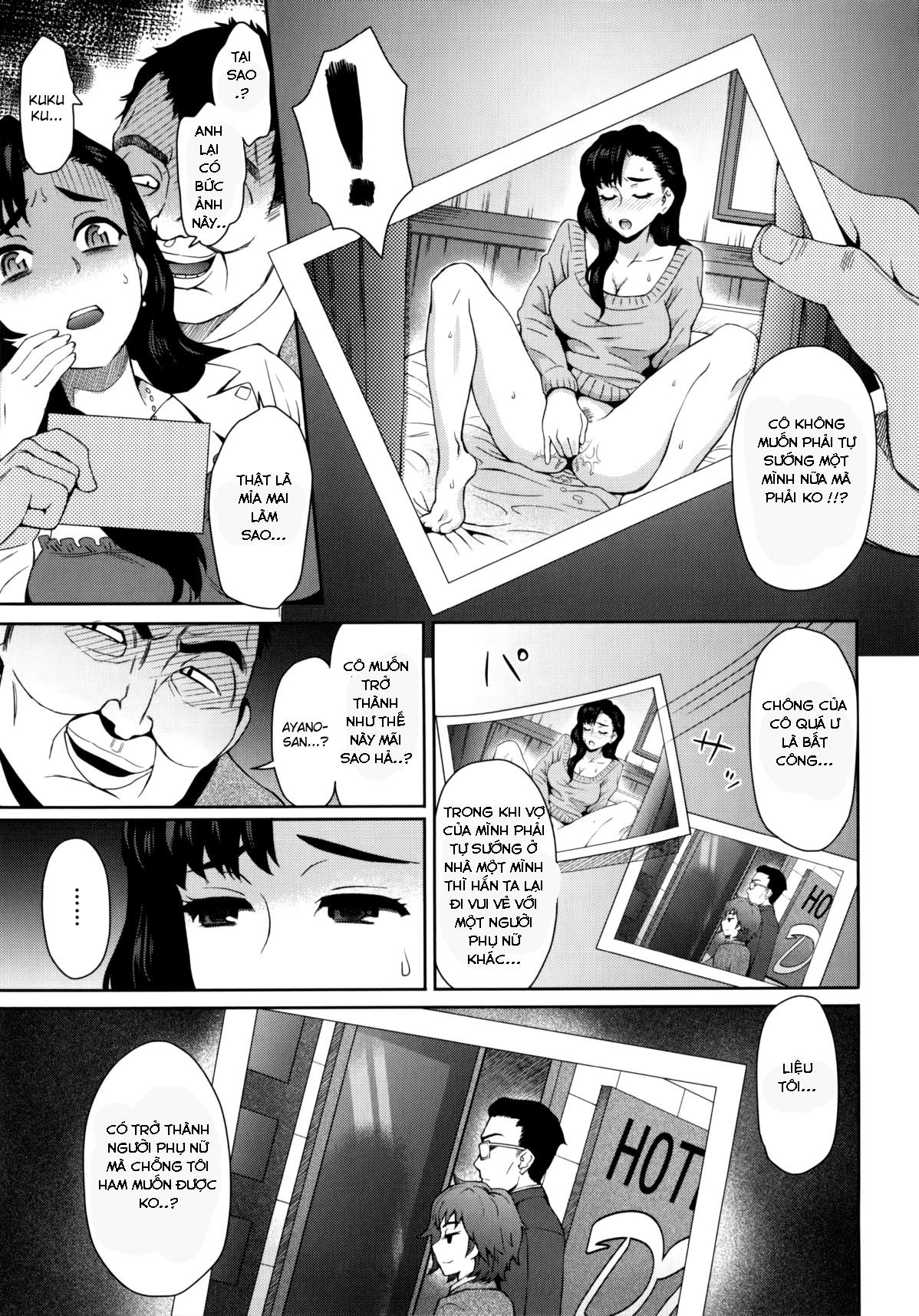 HentaiVN.net - Ảnh 8 - Cái Giá Của Ngoại Tình - Risou no Tsuma | An Ideal Wife - Oneshot