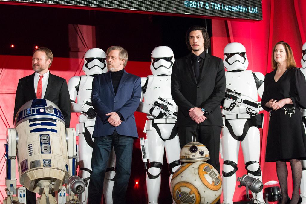 Star Wars: The Last Jedi Japan Premiere Red Carpet: Rian Johnson, Mark Hamill, Adam Driver & Kathleen Kennedy