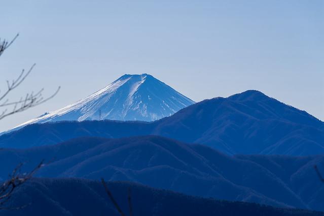 本日最後の富士山