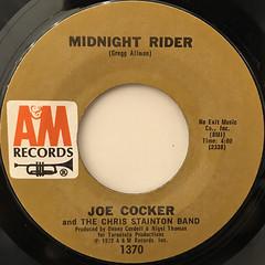 JOE COCKER:WOMAN TO WOMAN(LABEL SIDE-B)