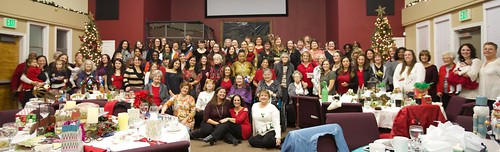 Renew Women's Ministry, Annual Christmas Tea 2017