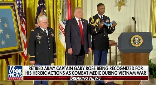 Gary Rose awarded medal of Honor