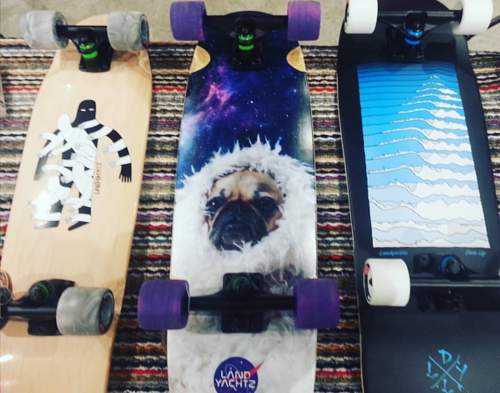 Cool new releases from Landyachtz - Dinghy Shadows, Tugboat Pugboat and Ditch Life. #landyachtz #landyachtzlongboards