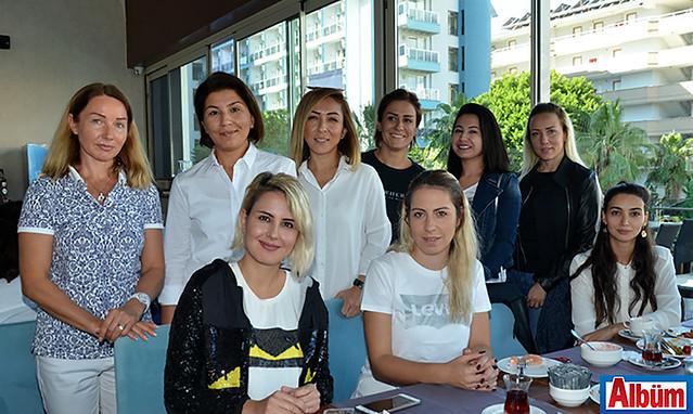 Svetlena Araz, Güzide Ceziroğlu, Şule Köseoğlu, Gökçe Akışoğlu, Merve Can, Aysun Ergün, Çiğdem Topal, Gözde Saldere, Aynur Babayev