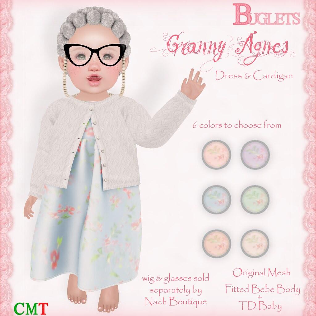 Granny Agnes Dress AD - TeleportHub.com Live!