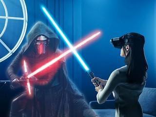 藉著AR 一起踏上成為絕地武士的道路吧!!Lenovo x Disney《星際大戰:絕地武士挑戰》Star Wars:Jedi Challenges