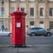 Victorian Post Box, Bath, UK