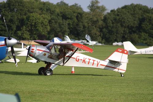 G-KTTY Denney Kitfox 3 [PFA 172-12001] Sywell 020917