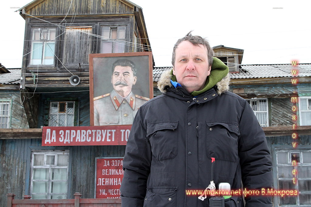 Сергей Вальцов на работе