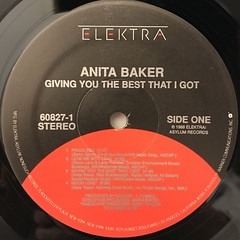 ANITA BAKER:GIVING YOU THE BEST THAT I GOT(LABEL SIDE-A)