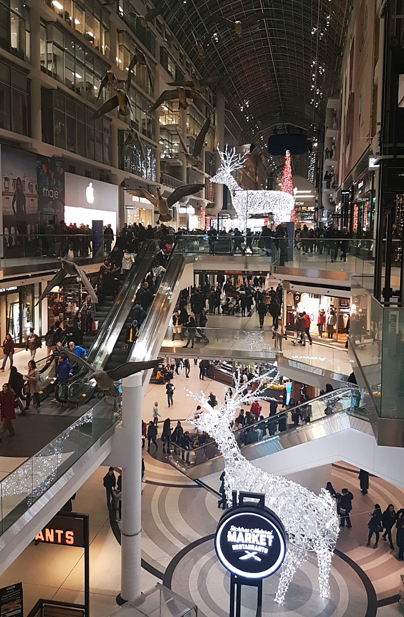 eaton centre Christmas