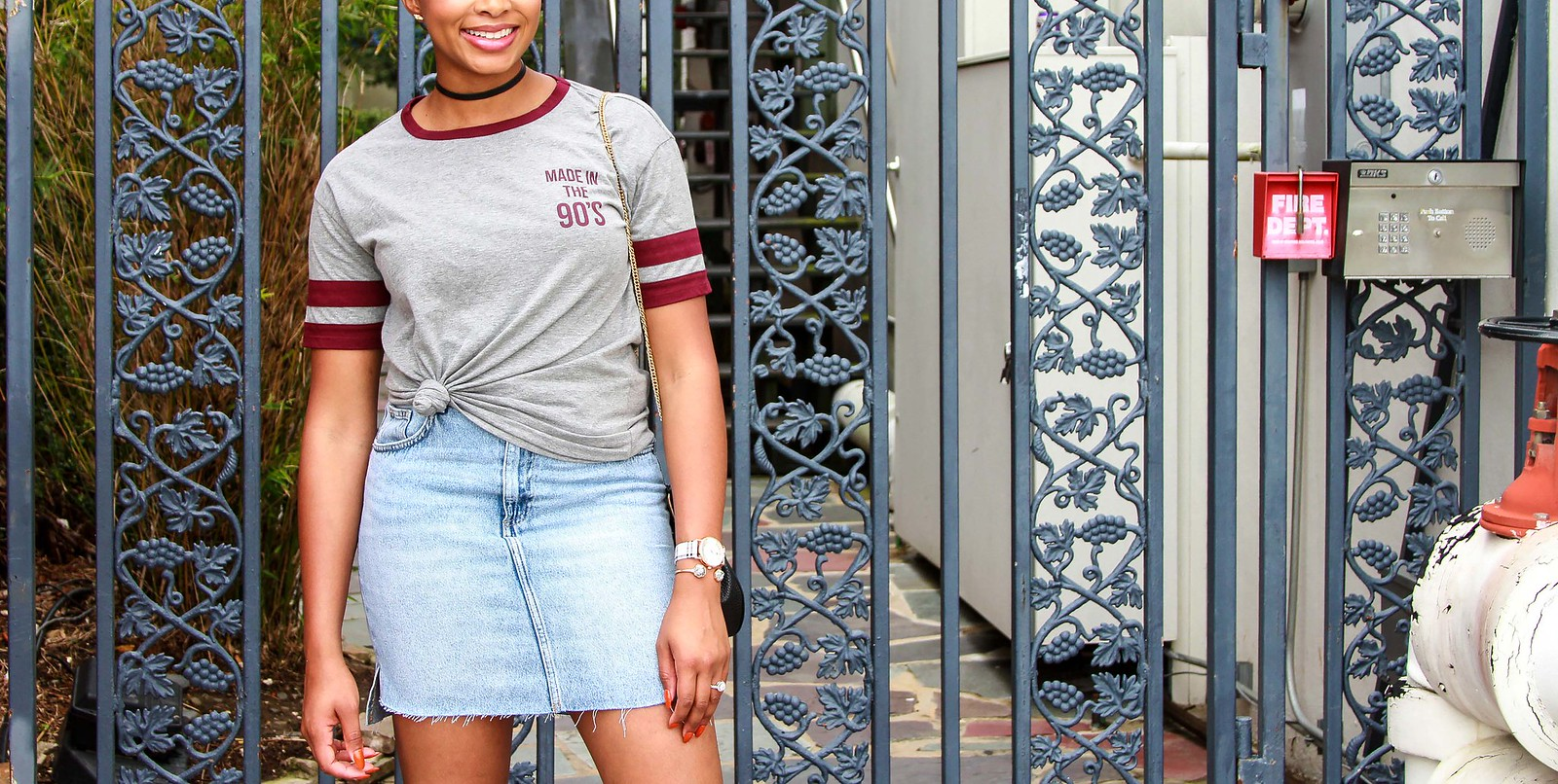 how to wear a screen print tee, the beauty beau