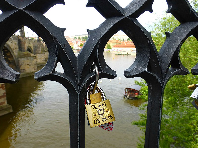 Prague Love Locks