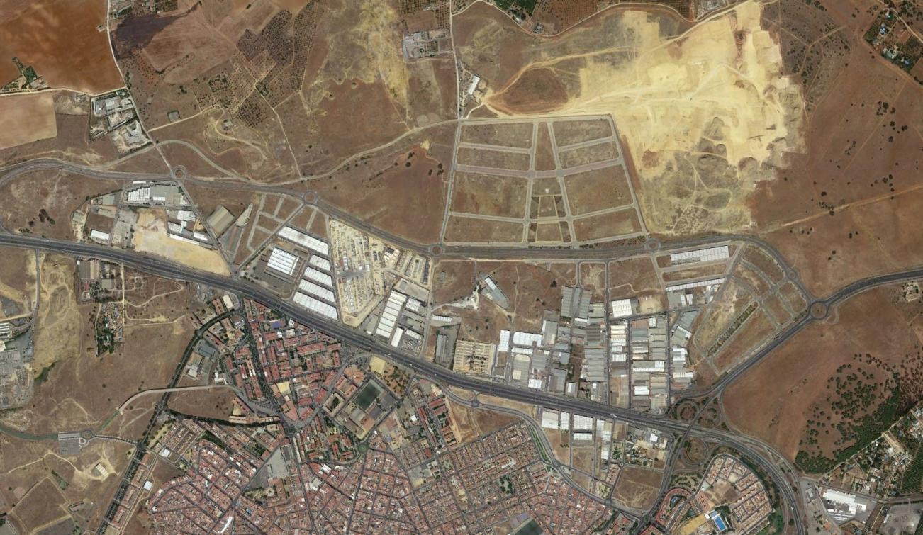 alcalá de guadaira (norte), sevilla, el corredor del guadaira, después, urbanismo, planeamiento, urbano, desastre, urbanístico, construcción, rotondas, carretera