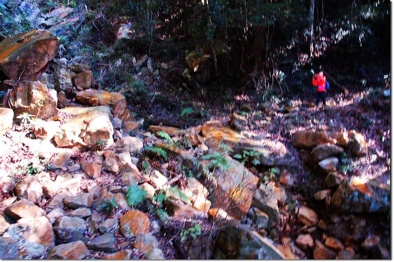 乾溪溝破碎地形