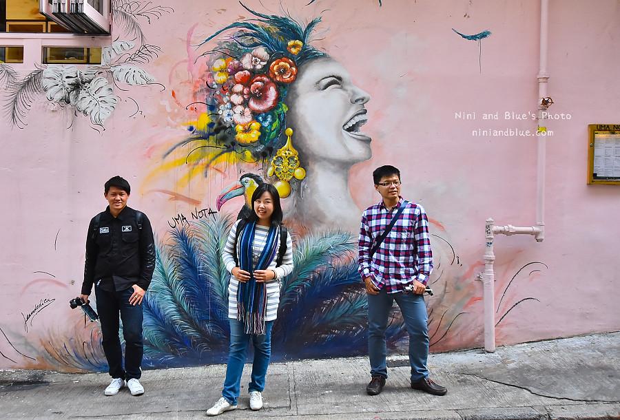 香港景點 舊城中環彩繪牆15