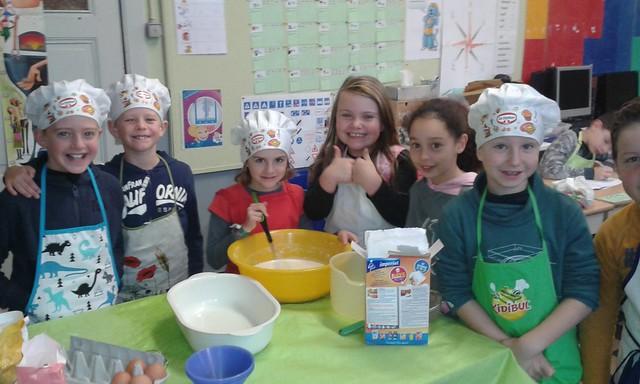5 december - pannenkoeken bakken (3de leerjaar)