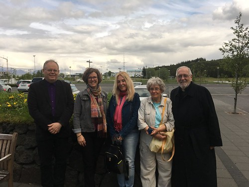 Organizers in Reykjavik