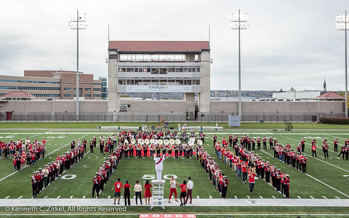 Cornell University Big Red marching Band 2017