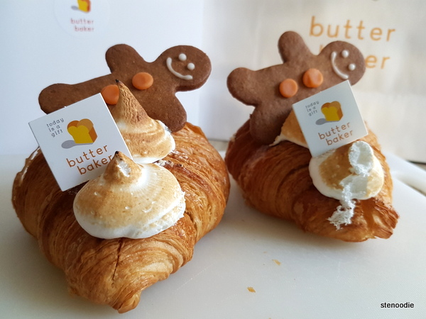 Gingerbread Man Croissants