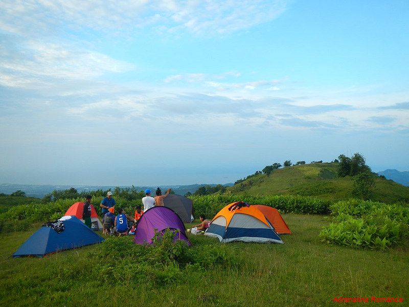 Mt. Km.28 summit and campsite