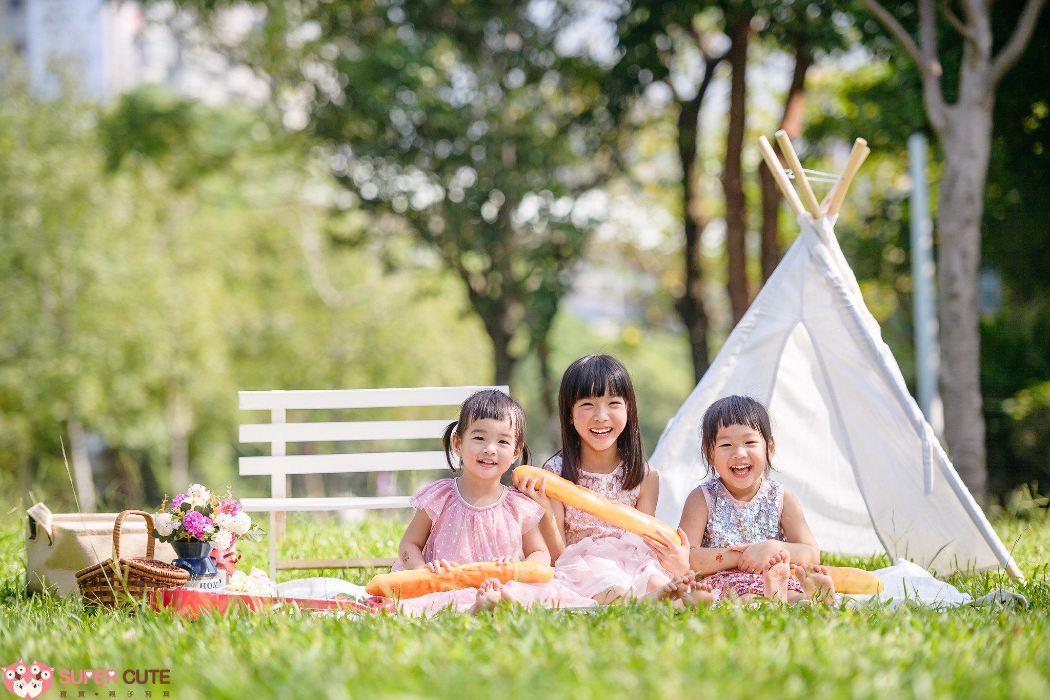 野餐風兒童寫真