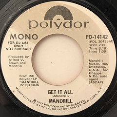 MANDRILL:GET IT ALL(LABEL SIDE-A)