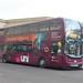 First West of England Unibus Enviro 400 MMC YX66 WFC 33950, Bath Spa 17.11.17