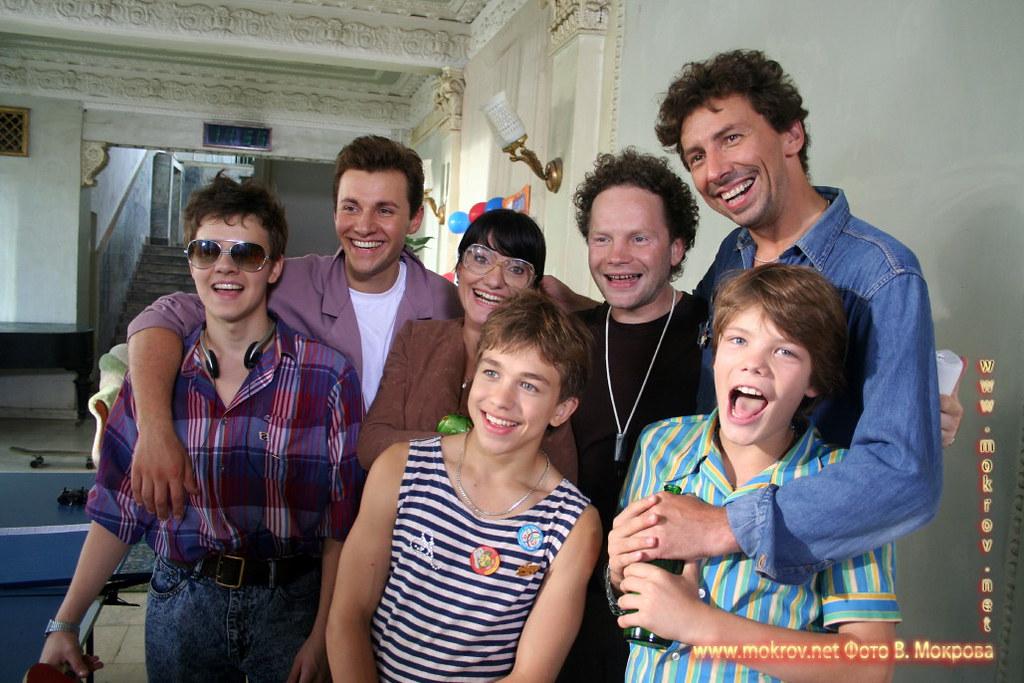 Актеры кино «Ласковый май» и фото