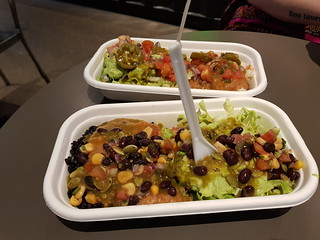Classic Vegan Bowl and IQ Vegan Bowl from Zambreros