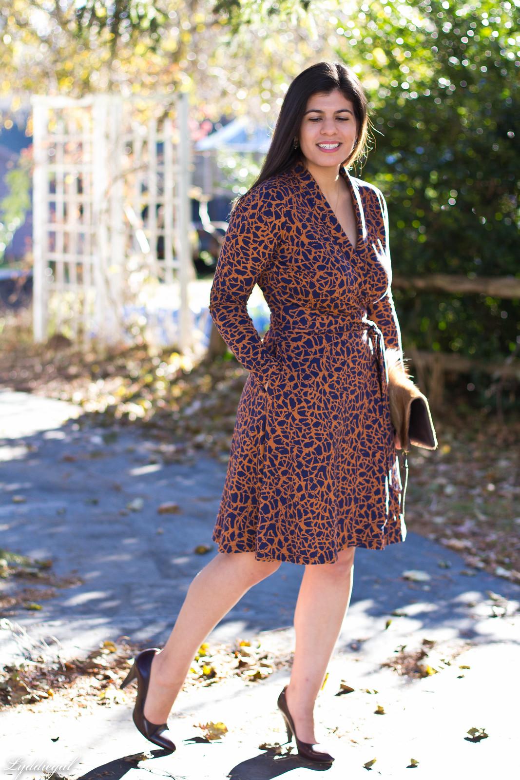 printed wrap dress, springbok clutch, thanksgiving outfit-16.jpg