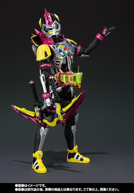 S.H.Figuarts 《假面騎士EX-AID》假面騎士Lazer Turbo 機車玩家0級!仮面ライダーレーザーターボ バイクゲーマー レベル0