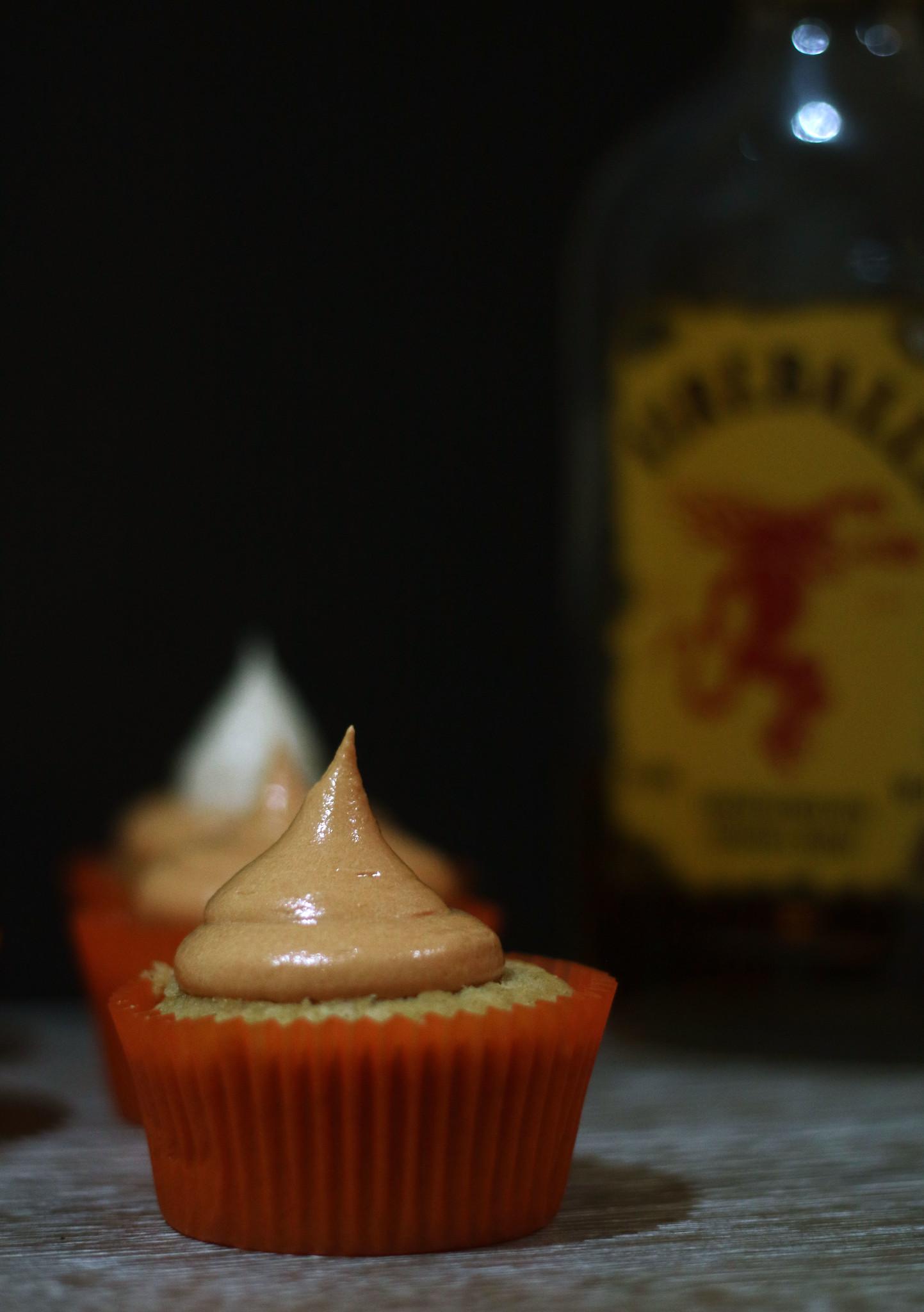 Fireball Cupcakes 2017