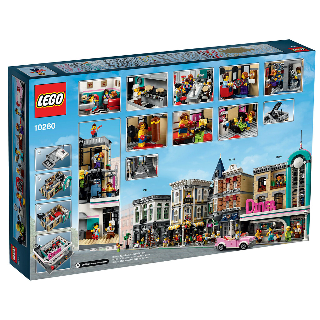 LEGO Creator Expert 10260 - Downtown Diner
