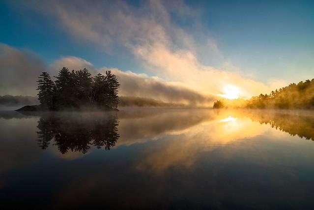 Sunrise, The Massassauga Provincial Park