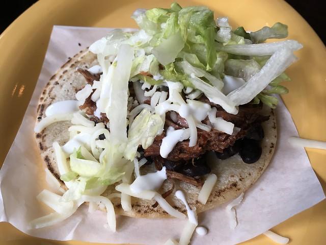 Beef barbacoa super taco - Tropisueno